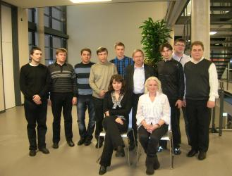 110. Delegation of MPEI during the visit to Ilmenau Technical University