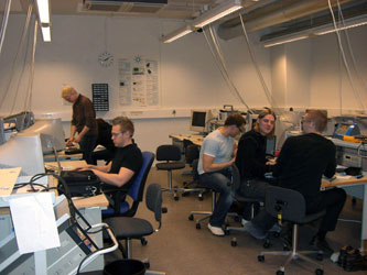 12. One of the academic laboratory in Laapenranta University of Technology in which the education program at Master level with issuing two Master diplomas for Russian MPEI students is arranged