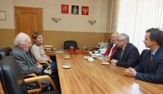 133. Meeting with MPEI Acting Rector N. Rogalev