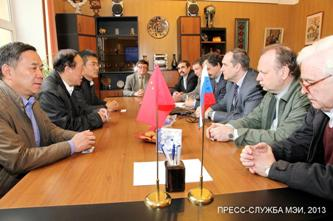 136. During negotiations with delegation of Xian Universuty
