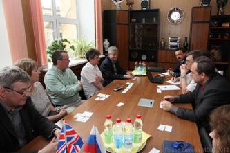 138. During negotiation with delegation of Glyndwr University (UK)