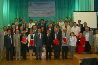 157. Participants of the First Mutual Meeting of members of the Russian-Kirgizian Consortium of technical universities