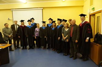 162. Presentation of Diplomas of Ilmenau Technical University (Germany)