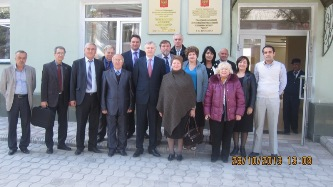 165. MPEI Delegation with our colleagues from Dushanbe