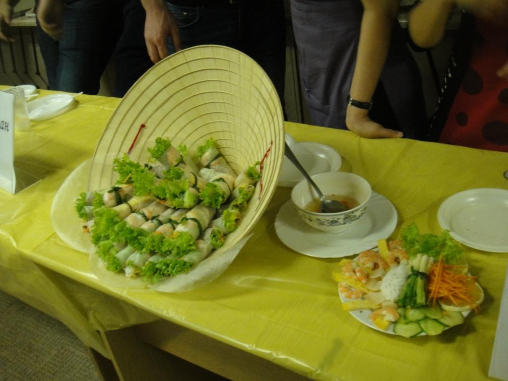 177. Results of Vietnam team during the competition of national meals