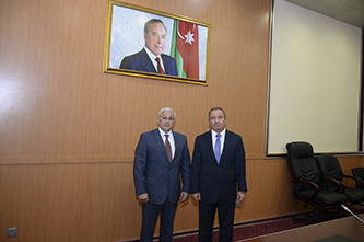 200. Minister of Communications and High Technologies of the Azerbaijan Republic Abbasov Ali Mammad oglu and MPEI Rector Nikolay D. Rogalev