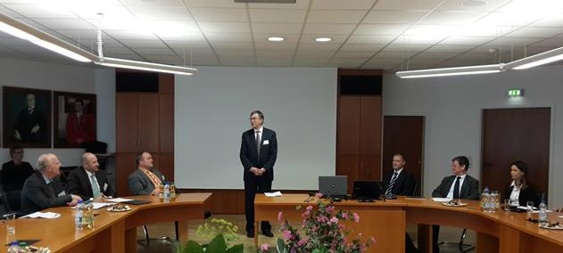 211. Professor Zhelbakov with the speech about partnership between MPEI and TU Ilmenau