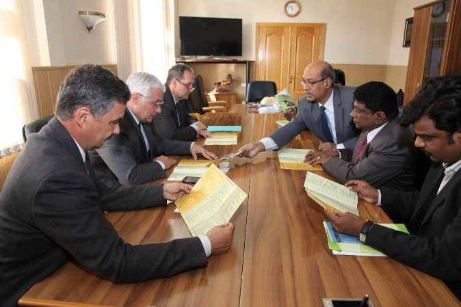 229. Meeting between MPEI Rector and Anna University delegation