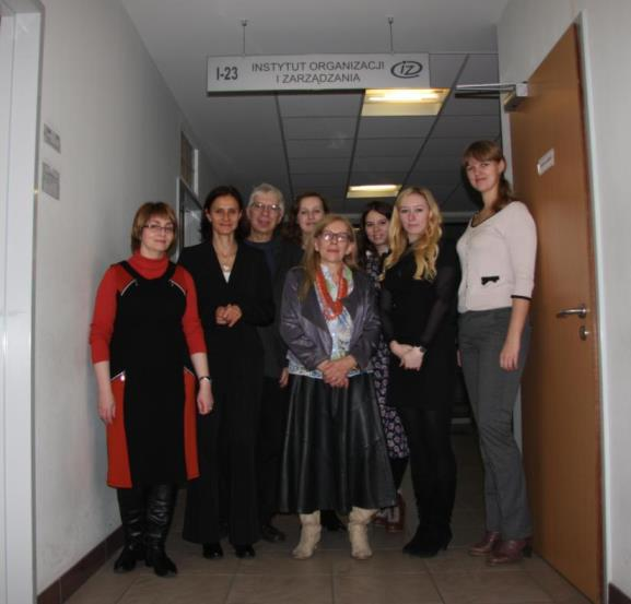 238. MPEI representatives at Wroclaw University of Technology (Poland).