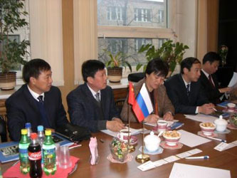 35. Official Governmental Delegation of Haian district (China) in MPEI for scientific and technological negotiations