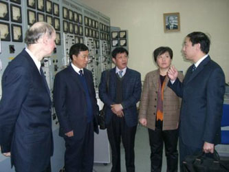 36. Chinese delegation from Haian district near MPEI Electric Dynamic Model