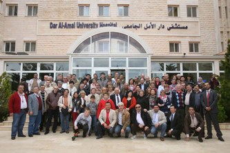 48. Forum participants at visit to the Hospital of Lebanon University Mr. Rakan Alan