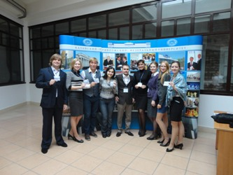 66. A group of participants of the Russian-German Week of Young Scientists
