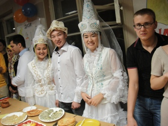 72. At the culinary competition of MPEI foreign students
