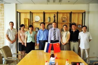 82. MPEI delegation in the International Department of North-China Electrical Power Engineering University