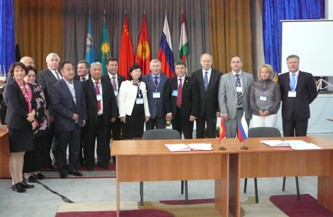 98. Meeting of the Rector's Council of the University of the Shanghai Organization on Cooperation. Bishkek (Kirgizia), October 9th, 2012