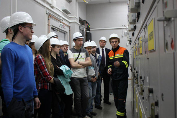MPEI students in Skolkovo